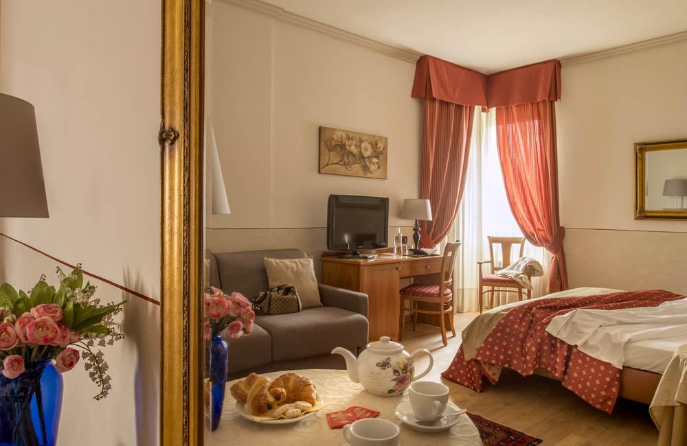 Family Room Hotel Ambasciatori Brescia