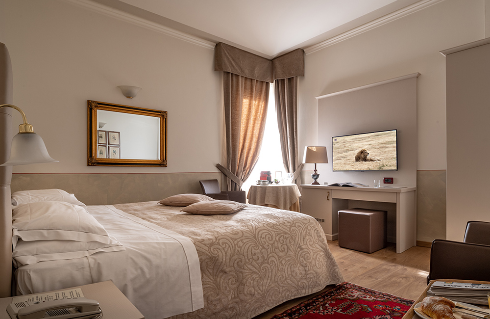 Camera Matrimoniale A Brescia.Camera Matrimoniale Superior Hotel Ambasciatori Brescia Hotel