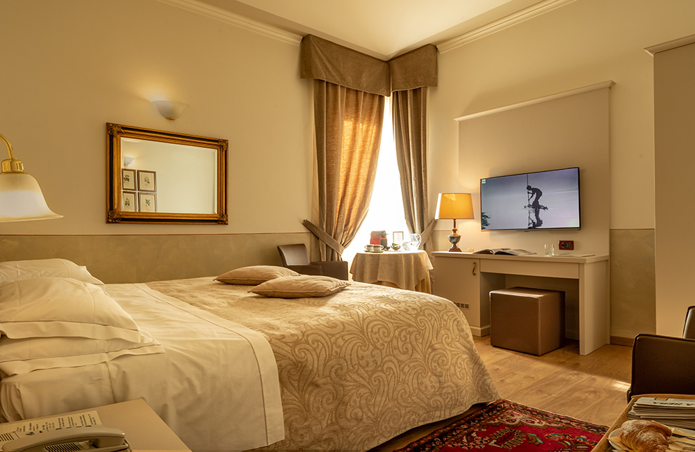 hotel ambasciatori brescia superior double room