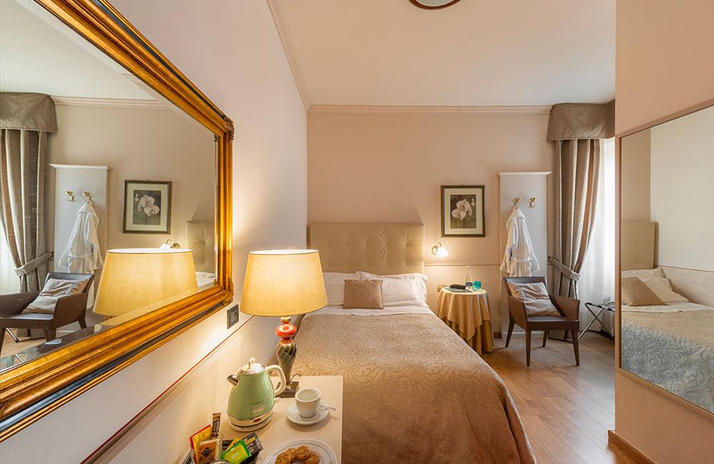 hotel brescia hotel ambasciatori camera singola con bollitore